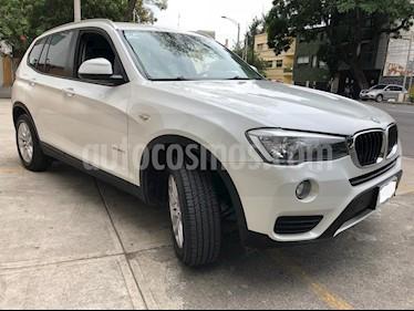 Foto venta Auto Seminuevo BMW X3 sDrive20iA (2016) color Blanco Alpine precio $428,000
