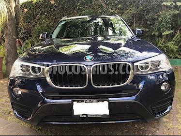 Foto venta Auto Seminuevo BMW X3 sDrive20iA (2016) color Azul Monaco precio $429,500