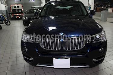 Foto venta Auto Usado BMW X3 xDrive28iA Top (2015) color Azul Monaco precio $445,000