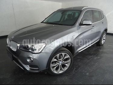 Foto venta Auto Usado BMW X3 xDrive28iA X Line (2017) color Gris precio $610,000