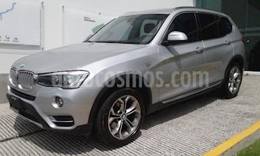 Foto venta Auto Seminuevo BMW X3 xDrive28iA X Line (2016) color Plata precio $460,000