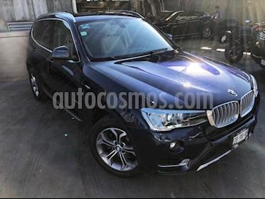 Foto venta Auto Usado BMW X3 xDrive28iA X Line (2017) color Azul precio $549,000