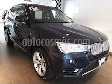 Foto venta Auto Usado BMW X3 xDrive28iA X Line (2017) color Azul Monaco precio $595,000
