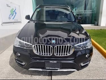 Foto venta Auto Seminuevo BMW X3 xDrive28iA X Line (2016) color Negro Zafiro precio $498,500
