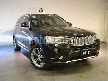 Foto venta Auto Seminuevo BMW X3 xDrive28iA X Line (2017) color Negro Zafiro precio $545,000