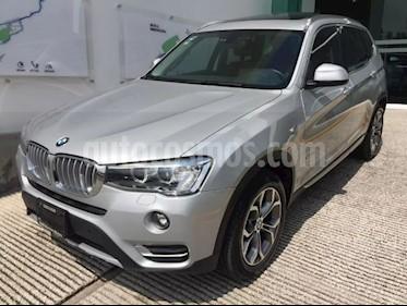 Foto venta Auto Seminuevo BMW X3 xDrive28iA X Line (2017) color Plata precio $498,501