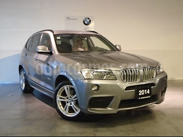 Foto venta Auto Seminuevo BMW X3 xDrive35iA M Sport (2014) color Gris Space precio $399,000