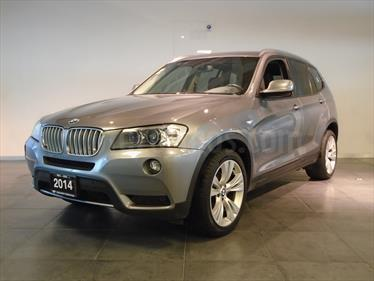 Foto venta Auto Seminuevo BMW X3 xDrive35iA Top (2014) color Gris Space precio $429,000