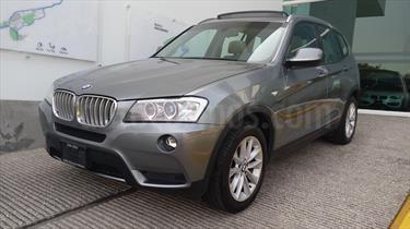 Foto venta Auto Seminuevo BMW X3 xDrive35iA Top (2014) color Gris Space precio $395,000