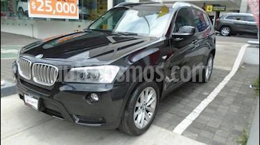 Foto venta Auto Seminuevo BMW X3 xDrive35iA Top (2012) color Negro precio $300,000