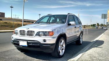 Foto venta Auto Seminuevo BMW X5 3.0i Lujo (2002) color Plata precio $110,000