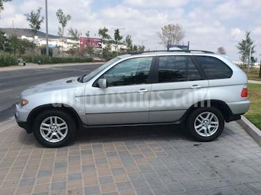 Foto venta Auto Seminuevo BMW X5 3.0i Lujo (2004) color Gris Plata  precio $135,000