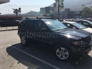 Foto venta Auto Seminuevo BMW X5 4.4ia Lujo (2004) color Negro precio $105,000