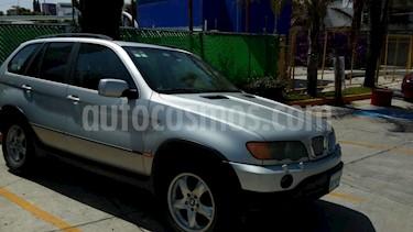 Foto venta Auto Seminuevo BMW X5 4.4ia Security (2003) color Gris Plata  precio $300,000