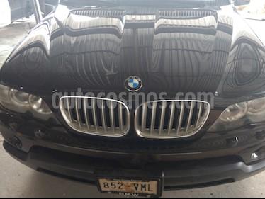 Foto venta Auto Usado BMW X5 4.8i M Sport (2006) color Negro precio $295,000