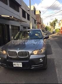 Foto venta Auto Seminuevo BMW X5 4.8i Premium 7 Asientos (2009) color Gris Space precio $240,000