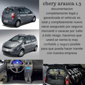 Foto venta carro usado Chery Arauca 1.3 Full (2016) color Gris Hierro precio BoF240.000.000