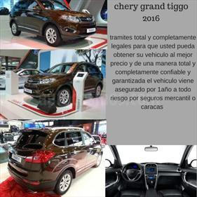Chery Grand Tiggo 2.0L GLS CVT usado (2016) color Marron precio BoF300.000.000