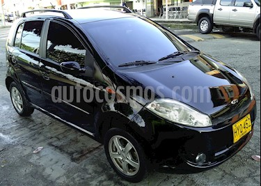 Foto venta Carro usado Chery Nice 1.3L Comfort (2015) color Negro precio $17.000.000