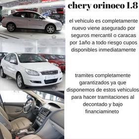 Foto venta carro usado Chery Orinoco 1.8L (2016) color Blanco precio BoF280.000.000