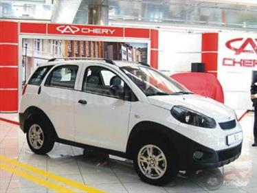 Foto venta carro usado Chery X1 1.3L (2016) color Blanco precio BoF160.000.000