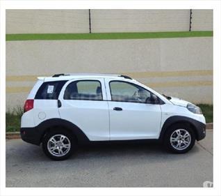 Foto venta carro usado Chery X1 1.3L (2017) color Blanco precio BoF80.000.000