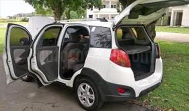 Foto venta carro usado Chery X1 1.3L (2018) color Plata precio BoF128.000.000