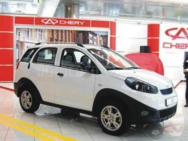 Foto venta carro usado Chery X1 1.3L (2017) color Blanco precio BoF150.000.000