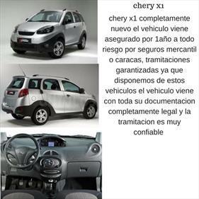 Foto venta carro usado Chery X1 1.3L (2016) color Gris precio BoF240.000.000