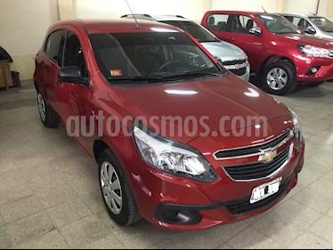 Foto venta Auto Usado Chevrolet Agile 1.4 LS (2014) color Bordo precio $225.000