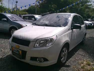 Chevrolet Aveo Emotion 4P 1.6L usado (2011) color Blanco precio $22.800.000