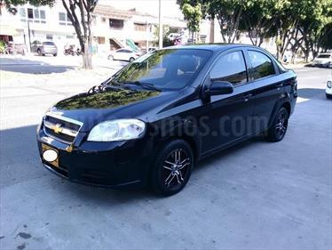 Chevrolet Aveo Emotion 5P 1.4L Ac usado (2007) color Negro precio $19.000.000