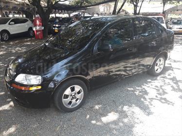 Chevrolet Aveo Family 1.5L usado (2011) color Negro Tinta precio $21.500.000