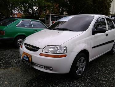 Chevrolet Aveo Family 1.5L usado (2011) color Blanco precio $20.500.000