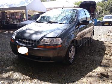 Chevrolet Aveo Family 1.5L usado (2009) color Gris precio $18.500.000