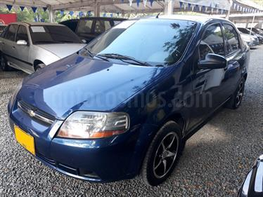 Foto venta Carro Usado Chevrolet Aveo 1.4L Ac (2006) color Azul precio $17.500.000