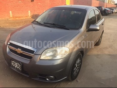 Chevrolet Aveo 1.4L usado (2011) color Gris precio u$s6,900