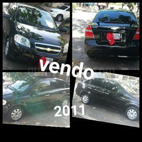 Foto venta carro usado Chevrolet Aveo 1.6L Ac (2011) color Negro precio u$s4.000
