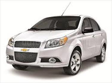 Foto venta carro usado Chevrolet Aveo 1.6L (2012) color Plata precio BoF50.000.000