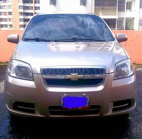 Foto venta carro usado Chevrolet Aveo 1.6L (2012) color Dorado precio u$s4.100
