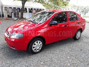 Chevrolet Aveo 1.6L usado (2011) color Rojo precio $22.000.000