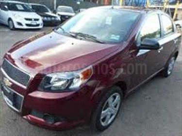 Chevrolet Aveo 1.6L usado (2016) color Rojo Adrenalina precio BoF1.000.000