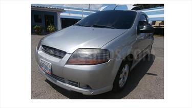 Foto venta carro usado Chevrolet Aveo 3P 1.6 Mec (2008) color Gris precio BoF30.000.000