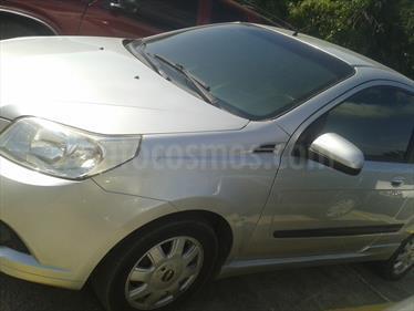 Foto venta carro usado Chevrolet Aveo 3P 1.6L Aut Ac (2012) color Plata Abedul precio u$s3.800
