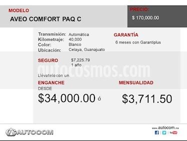 Foto venta Auto usado Chevrolet Aveo AVEO COMFORT PAQ C (2017) precio $170,000