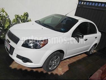 Foto venta Auto usado Chevrolet Aveo LS Aa Radio Aut (Nuevo) (2015) color Blanco precio $119,500