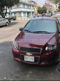 Foto venta Auto usado Chevrolet Aveo LS Aa Radio Aut (Nuevo) (2014) color Rojo Victoria precio $115,000