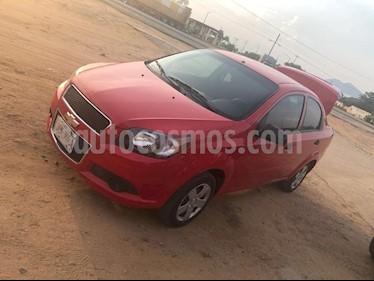 Foto venta Auto Seminuevo Chevrolet Aveo LS Aa Radio y Bolsas de Aire (Nuevo) (2016) color Rojo precio $125,000