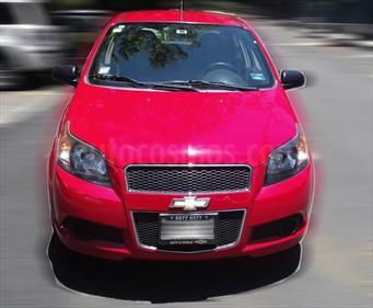 Foto venta Auto usado Chevrolet Aveo LS Aa (2014) color Rojo Victoria precio $106,000