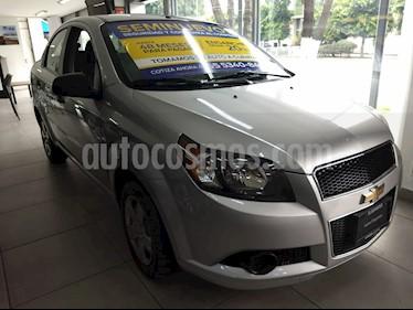Foto venta Auto Seminuevo Chevrolet Aveo LS Aa (2012) color Plata Brillante precio $82,000